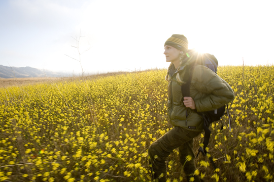Hiking the Mustard Seed Fields