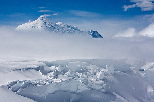 Search & Rescue on Mt. McKinley, Denali National Park, Alaska