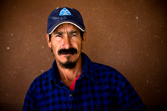 Portrait of Mexican Conservation Cowboy
