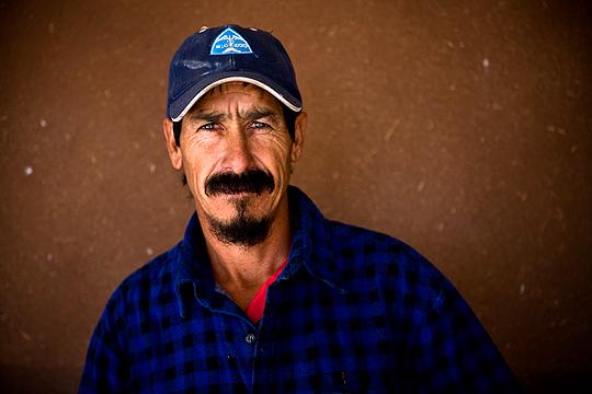 Portrait of Mexican Conservation Cowboy
