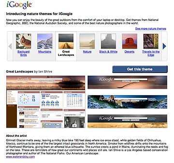 iGoogle_Landscapes